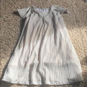 Gap Holiday dress gold accents size 4T